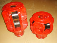 kelly drive bushings, side-mounted rollers, shafts and wipers